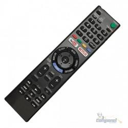 Controle Remoto Smartv Sony Rmt-tx300b Netflix - Youtube